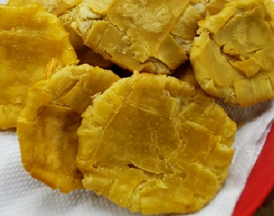 Breadfruit Tostones